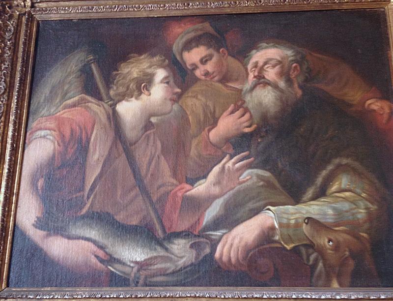 St raphael and tobias